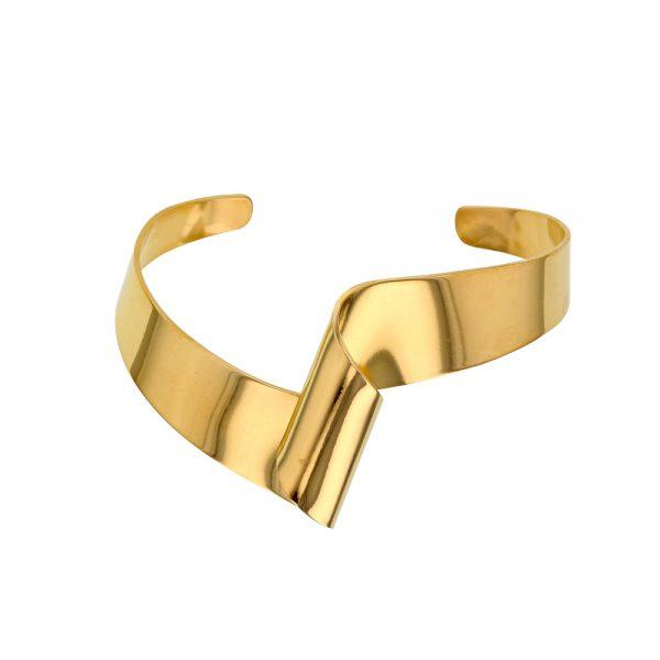 Man Show Bracelets Bracelet rigide forme courbe